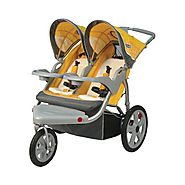 Best Double Jogging Stroller Reviews and Ratings | InStep Grand Safari Swivel Wheel Double Jogger
