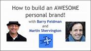 Interviews featuring Barry Feldman | A to Z of Personal Branding with Barry Feldman - Plus Your Business