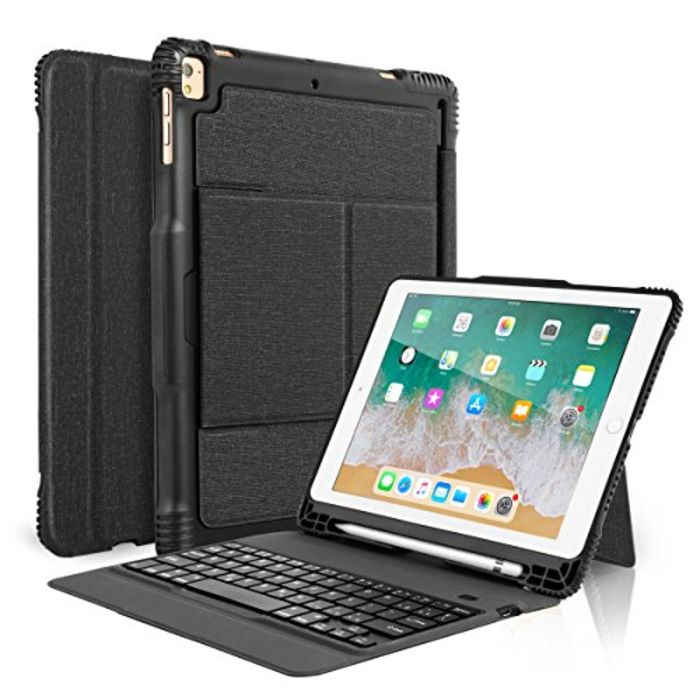 top 10 best ipad pro cases with pencil holder and keyboard a listly list. Black Bedroom Furniture Sets. Home Design Ideas