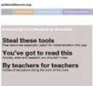 Common Core for School Librarians | achievethecore.org / Steal These Tools
