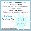 Facebook Friday Parties | Outstanding Practice Performance | Social Sunday