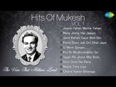 Philosophical Songs from Old Hindi Movies | Best Of Mukesh - Top 10 Hits - Indian Playback Singer - Tribute To Mukesh - Old Hindi Songs - Vol 1