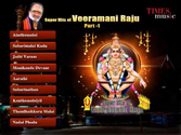 Hindi Bhajans Songs | Super Hits Of Veeramani Raju - Part 1