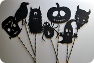 Halloween & Fall Diy | Make This: Halloween Shadow Puppets