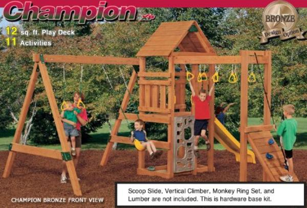Best Rated Diy Wooden Swing Set Kits And Plans For Awesome Parents