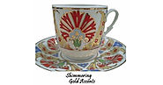 Italian Espresso Cups and Saucers | Espresso Cup & Saucer Set