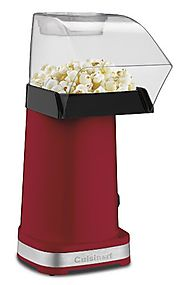 Best Top Rated Home Popcorn Machines 2014 - 2015 | Cuisinart CPM-100 EasyPop Hot Air Popcorn Maker, Red