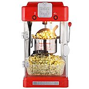 Best Top Rated Home Popcorn Machines 2014 - 2015 | Great Northern Popcorn Machine Pop Pup 2-1/2oz Retro Style Popcorn Popper