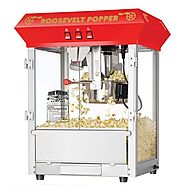 Best Top Rated Home Popcorn Machines 2014 - 2015 | Great Northern Popcorn 6010 Roosevelt Top Antique Style Popcorn Popper Machine, 8-Ounce