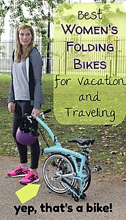 Best Women's Folding Bikes for Travel and Vacation
