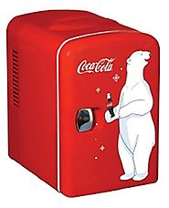 Best Compact Personal Mini Fridge Refrigerators 2014 | Koolatron KWC-4 Coca-Cola Personal 6-Can Mini Fridge