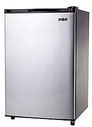 Best Compact Personal Mini Fridge Refrigerators 2014 | RCA RFR441 Fridge, 4.5 Cubic Feet, Stainless Steel