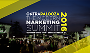 The Big List of 2016 Marketing Events | ONTRAPALOOZA 2016: THE MODERN MARKETING SUMMIT