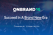 The Big List of 2016 Marketing Events | OnBrand'16
