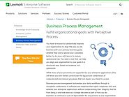 BPM Tools (essential in ITSM projects) | Perceptive BPM