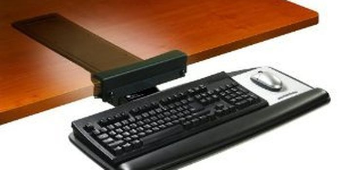 Top Rated Clamp On Keyboard Tray Under The Desk Mount