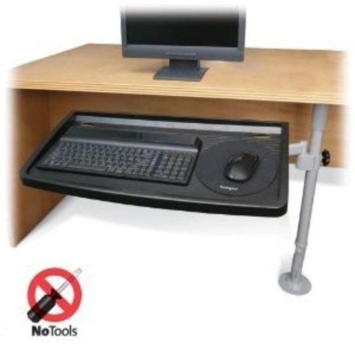 Best Clamp On Keyboard Tray For Under The Desk Easy Mount Review Flipboard