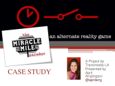 Transmedia Case Studies | Miracle Mile Paradox ARG