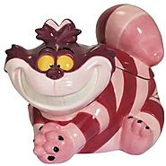 Cat Cookie Jars for Sale | Westland Giftware Cheshire Cat Ceramic Cookie Jar, 8.5-Inch