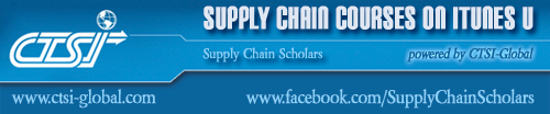 Headline for Supply Chain Courses on iTunes U