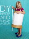 DIY Needle and thread costume