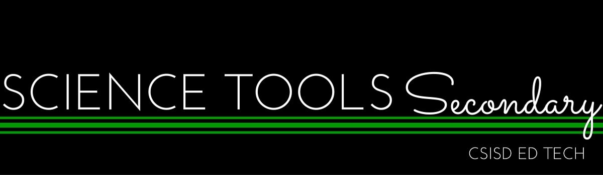 Science Tools- Secondary