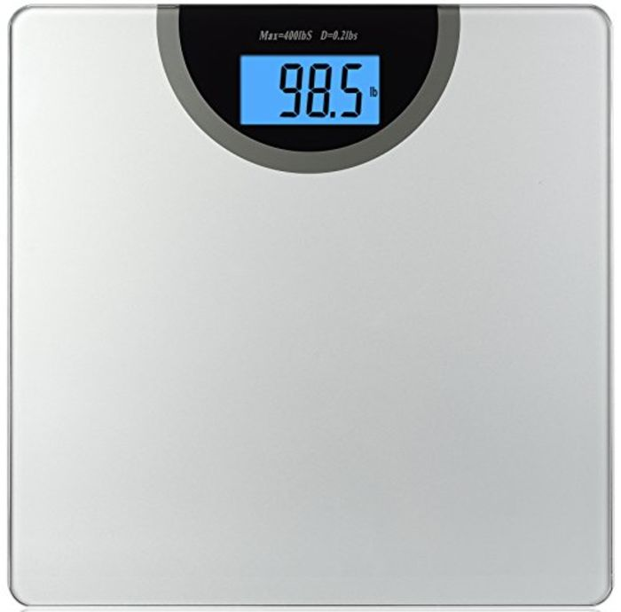 Top bathroom scales