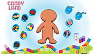 Candy Land Gingerbread Man