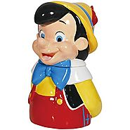 Disney Cookie Jars for Sale | Westland Giftware Ceramic Cookie Jar, 11-Inch, Disney Pinocchio