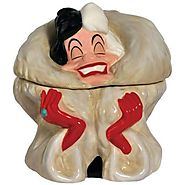 Disney Cookie Jars for Sale | Westland Giftware Cruella De Vil Ceramic Cookie Jar, 9-Inch