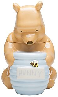 Disney Cookie Jars for Sale | Zak Designs Disney Winnie The Pooh Ceramic Cookie Jar, 12-Inch