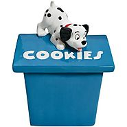 Disney Cookie Jars for Sale | Westland Giftware Playful Puppy Ceramic Cookie Jar, 11.75-Inch