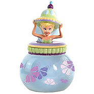 Disney Cookie Jars for Sale | Westland Giftware Ceramic Disney Tinker Bell Fairy Dust Cookie Jar, 10.5-Inch - Kitchen Things