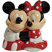 Disney Cookie Jars for Sale | Mickey and Minnie Cookie Jar - Kitchen Things