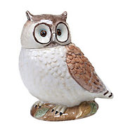 Rustic Nature 3D Owl Cookie Jar - Kitchen Things