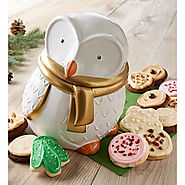 Collectors Edition Snow Owl Cookie Jar - Kitchen Things