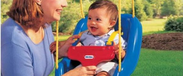 Headline for Best Outdoor Baby Swing Sets 2014