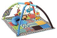 Best Baby Playmats and Gyms | Infantino Twist and Fold Activity Gym, Vintage Boy