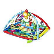 Best Baby Playmats and Gyms | Baby Einstein Caterpillar and Friends Play Gym