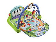 Best Baby Playmats and Gyms | Fisher-Price Piano Gym, Kick and Play