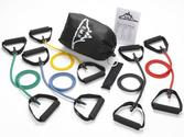 Best Exercise Resistance Bands Reviews 2014 | Black Mountain Products Resistance Band Set (Five Bands Included)