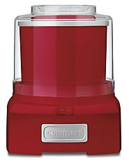 Best Top Rated Ice Cream Maker Reviews 2014 | Cuisinart ICE-21R Frozen Yogurt, Ice Cream & Sorbet Maker, Red