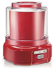 Best Top Rated Ice Cream Maker Reviews 2014 | Hamilton Beach Ice Cream Maker, 1.5-Quart, Red (68881Z)