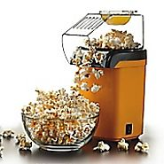 Best Rated Air Popcorn Popper | Brentwood Hot Air Popcorn Popper; Yellow | Staples®