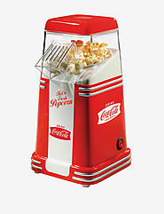 Best Rated Air Popcorn Popper | Nostalgia Electrics Coca Cola Series Mini Hot Air Popcorn Popper | Stage Stores