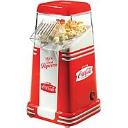 Best Rated Air Popcorn Popper | Nostalgia Electrics Coca-Cola Series Mini Hot Air Popcorn Popper, RHP310COKE - Walmart.com