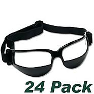Unique Dribble Specs Reviews 2016 | Dribble Specs No Look Basketball Eye Glass Goggles - Pack of 24