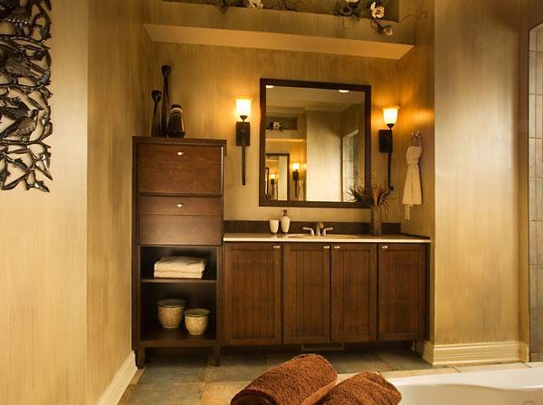 Шкафчик для ванной дизайн