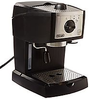 Best Coffee Latte Makers | De'Longhi EC155 15 BAR Pump Espresso and Cappuccino Maker