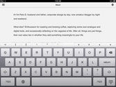 iPad Apps For Writing and Nanowrimo | Byword * Simple and efficient text editor for Mac, iPhone and iPad.